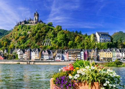 Beautiful medieval town in Cochem