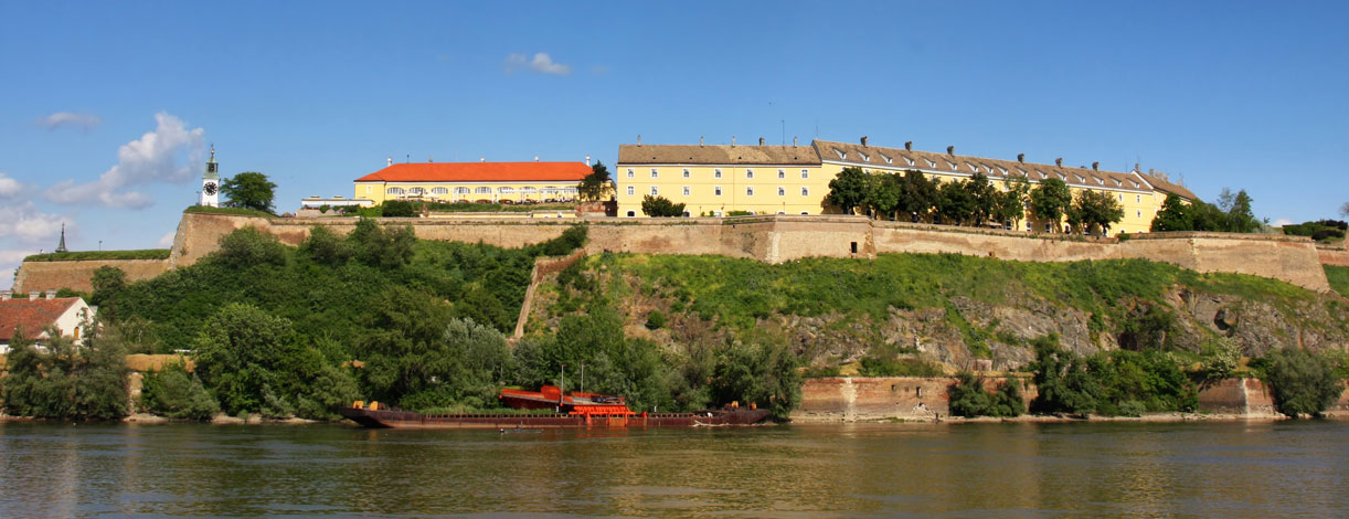 Petrovaradin Fortress and Danube River