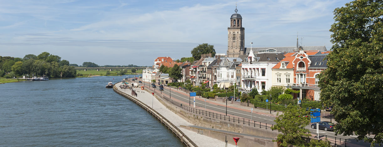 Deventer and Ijssel River Netherlands