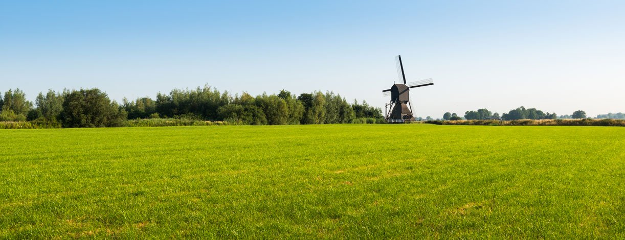Dutch Countryside, Windmill