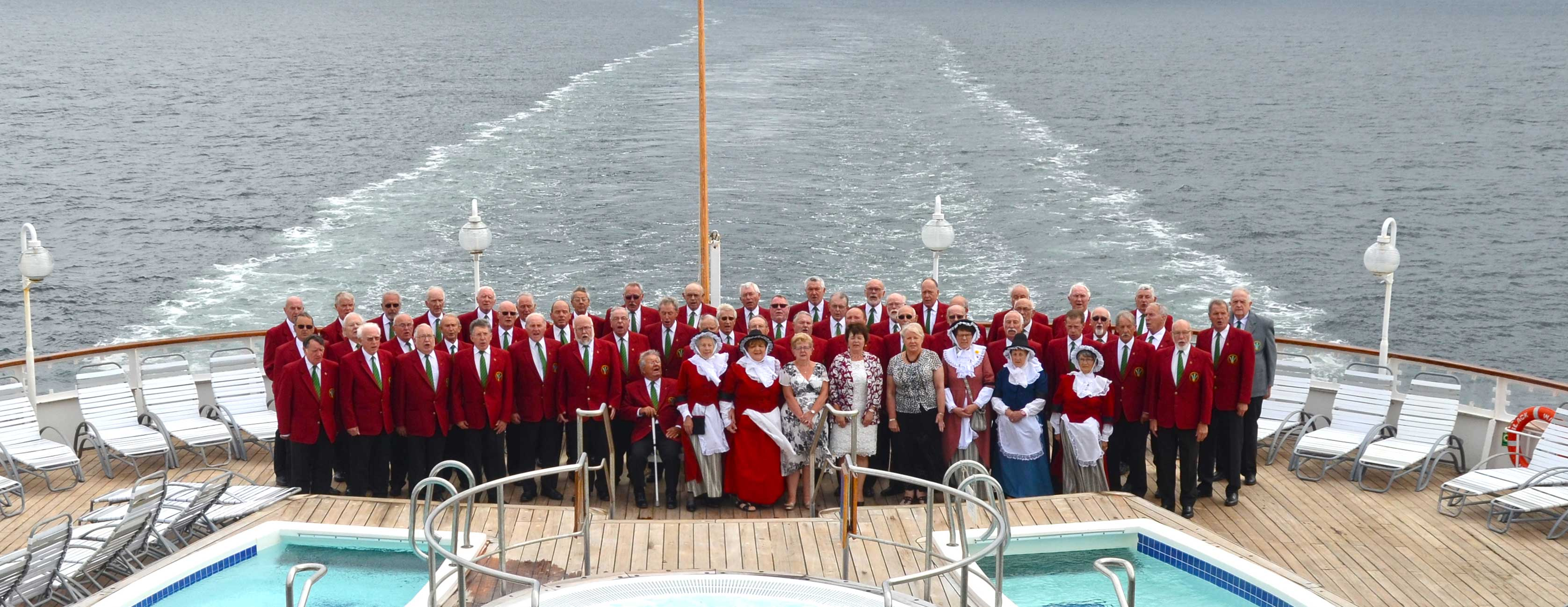 Choirs at sea