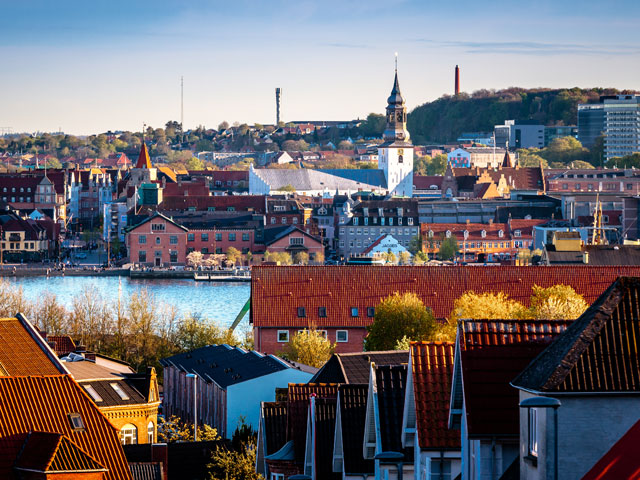 City of Alborg, Denmark