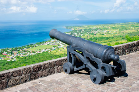 Brimstone Fortress, Basseterre, St Kitts and Nevis