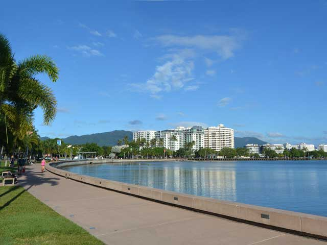 View of cairns from the promenade, Australia