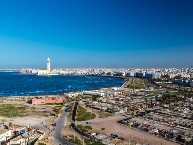 Casablanca city Panorama