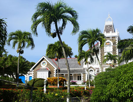 Government House Morne Fortune, Castries, St Lucia