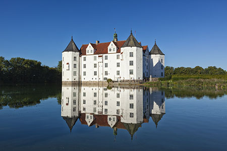 Flensburg Water Castle at Glucksburg, Germany