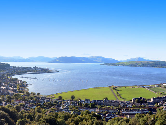 Greenock Gateway to Scotland Lochs