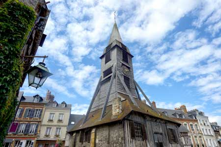 Bell tower of the Saint Catherine Church of Honfleur