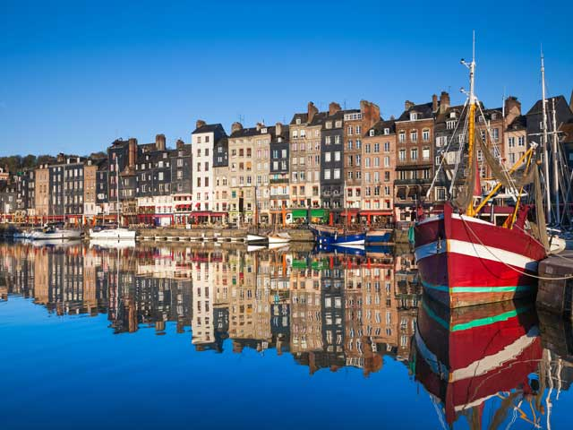 Honfleur waterfront, France