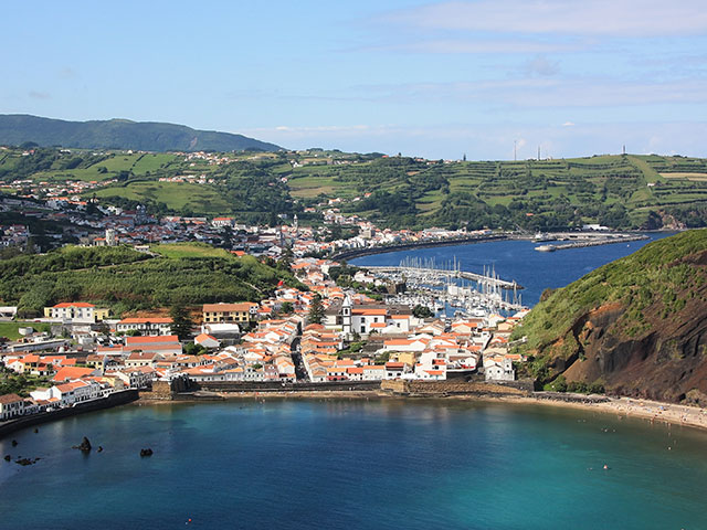 The City of Horta and Horta Bay of the Archipelago of the Azores, Portugal