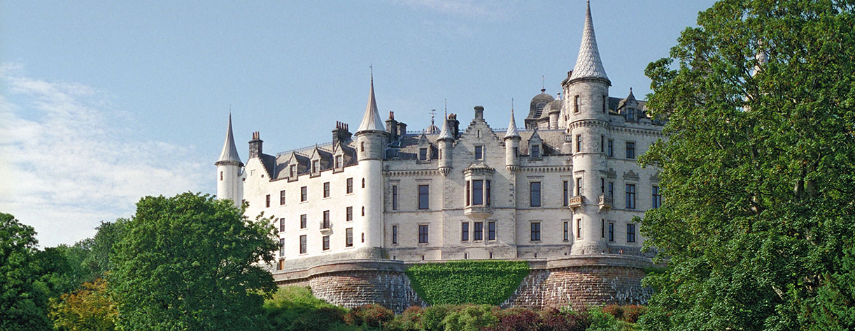 Dunrobin Castle in Invergordon, Scotland
