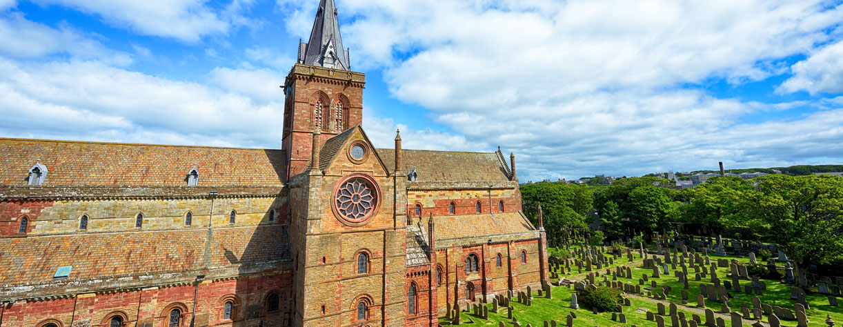 St Magnus Cathedral, Kirkwall, Scotland