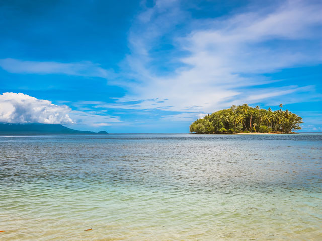 Bismarck Sea in Papua New Guinea