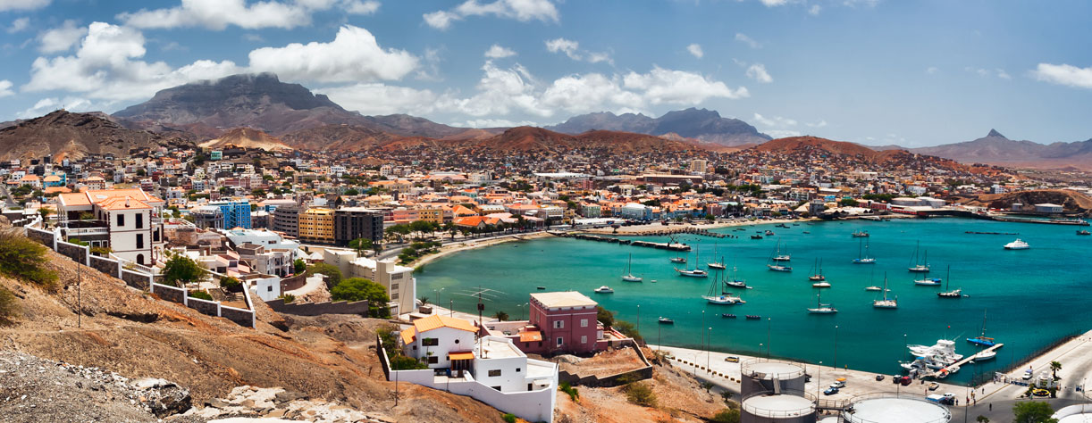 Panoramic view of Cape Verde