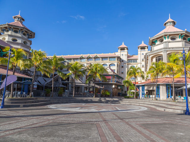 Port Louis Waterfront center, Capital of Mauritius