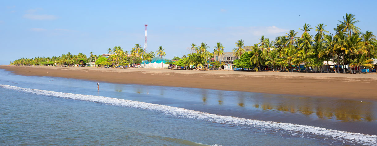 Costa Rica beach, Puntarenas