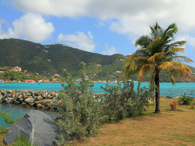 Road town harbour in Tortola, British Virgin Islands