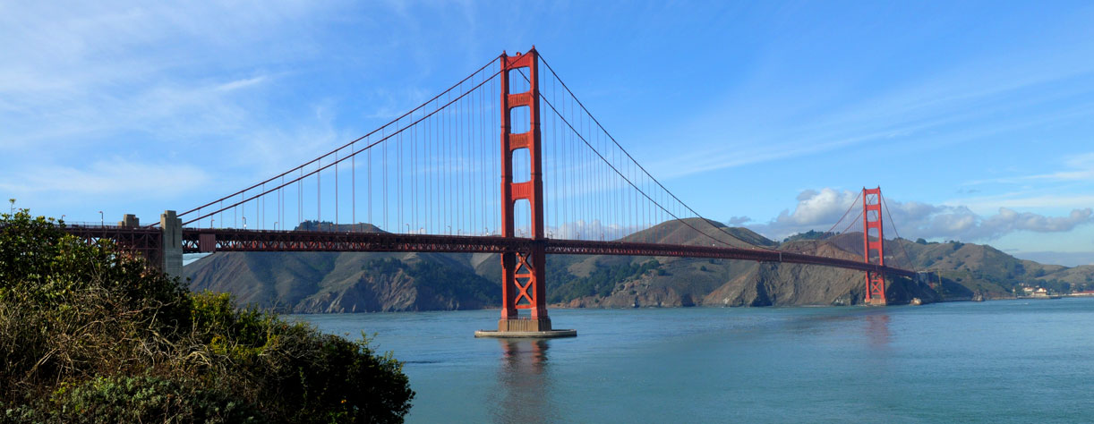 San Fransico Golden Gate bridge California USA