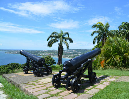 Fort St. George Scarborough Tobago