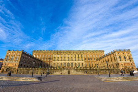 Royal Palace in Gamla Stan, Sweden