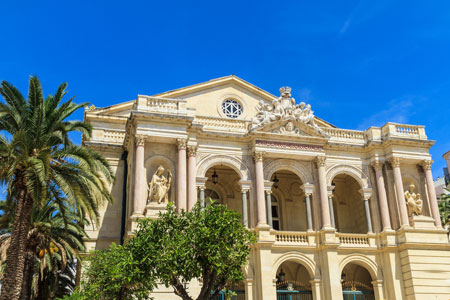 Toulon Opera House in Provence, France