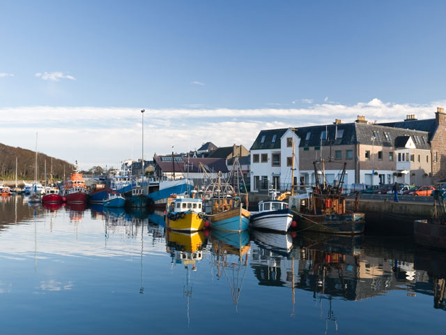 Stornoway Harbour Isle of Lewis Scotland