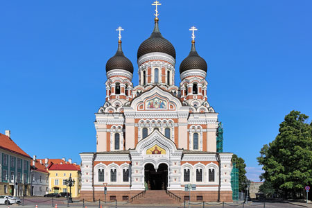 Alexander Nevsky Catherdral in the Tallinn Old Town