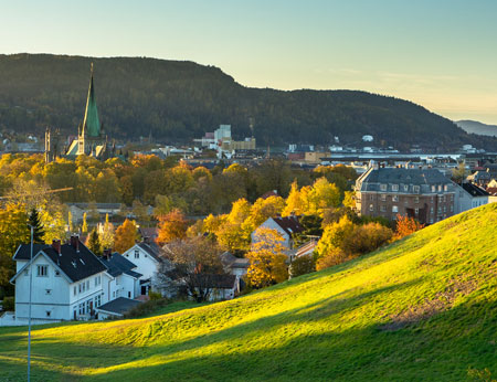 Trondheim in Norway
