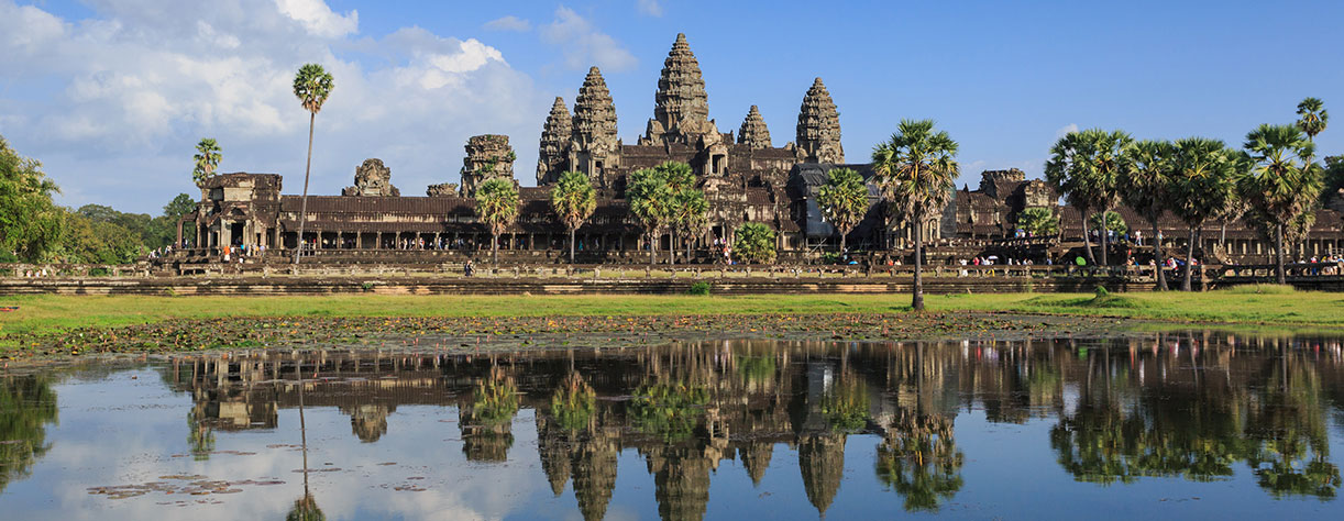Angkor Wat Temple in Cambodia, Asia