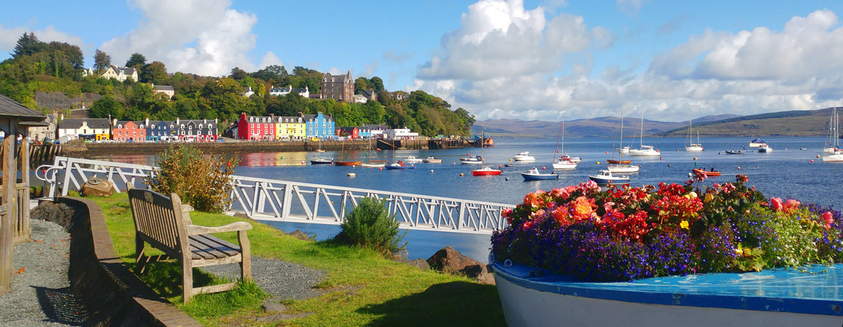 Tobermory Ise of Skye, United Kingdom