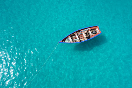 Traditional fishing boat, Cape Verde Islands