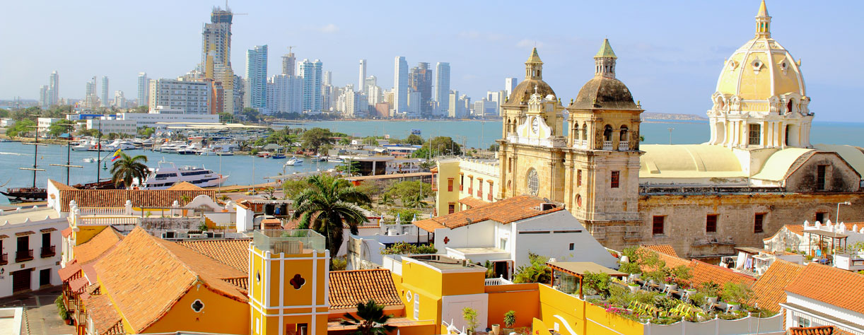 Colombia Historic center of Cartagena, Colombia