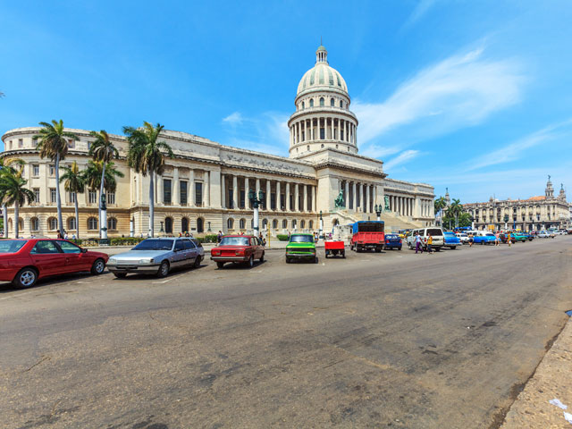 National Capitol Building in Havana, Cuba