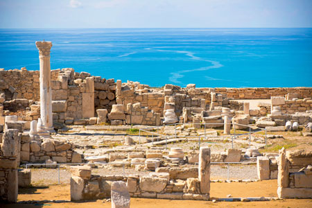 Ruins of-ancient Kourion, Limassol, Cyprus
