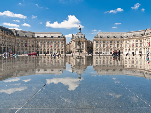 Palais de la Bourse located at Bordeaux France