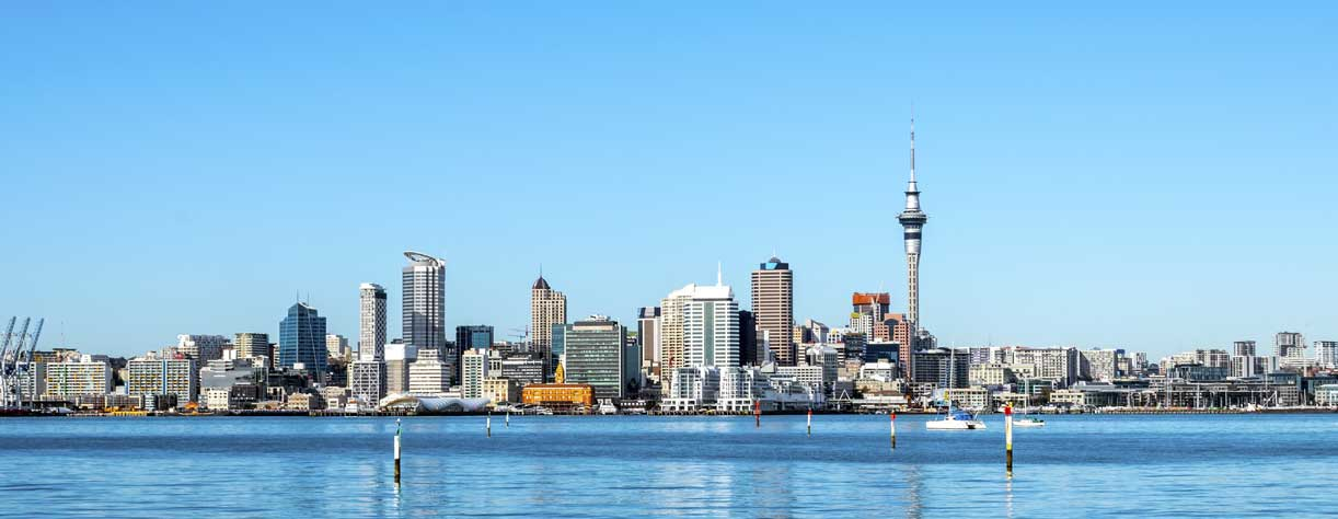 Auckland City View from Bayswater Wharf