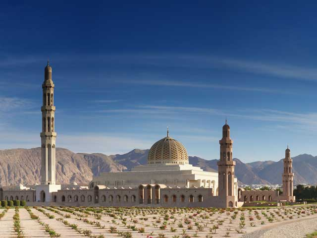 Grand mosque Muscat