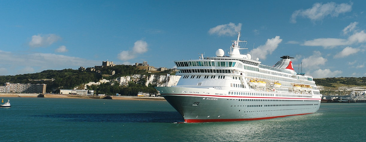 Balmoral cruising from Dover