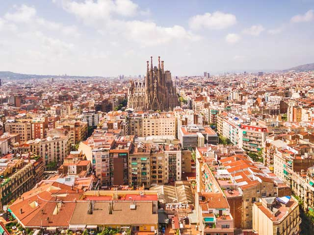 Sagrada de Familia Cathedral, Barcelona, Spain