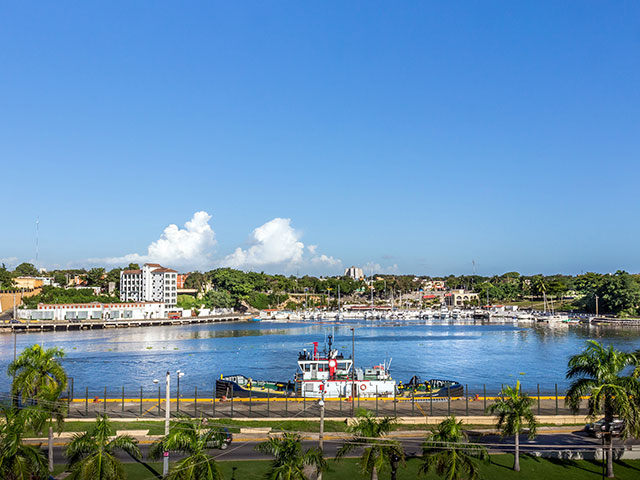 Santo Domingo harbour, Dominican Republic
