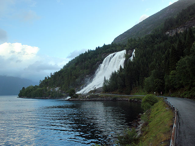 Furebergfossen waterfall, Norway