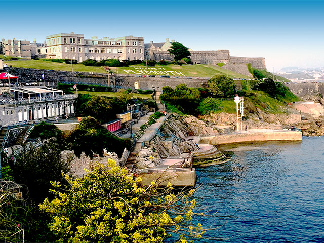 Plymouth Hoe - ocean view, United Kingdom