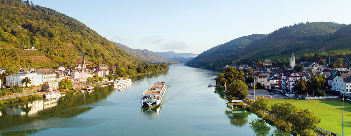 Brabant cruising the Moselle River