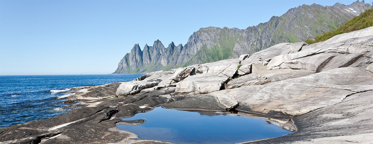 Djevelens Tanngard (Devil's teeth) Norway