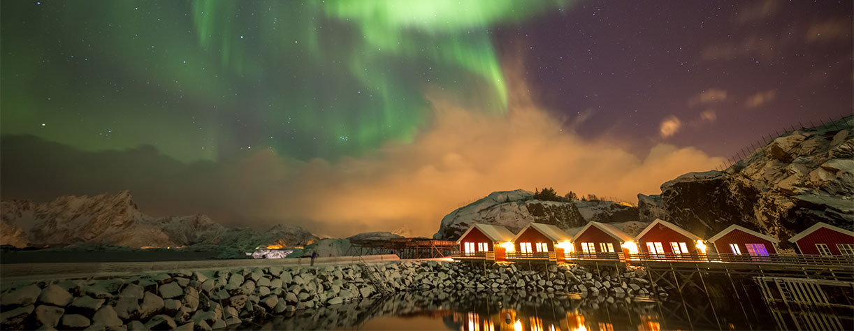 The Aurora Borealis in Alta, Norway