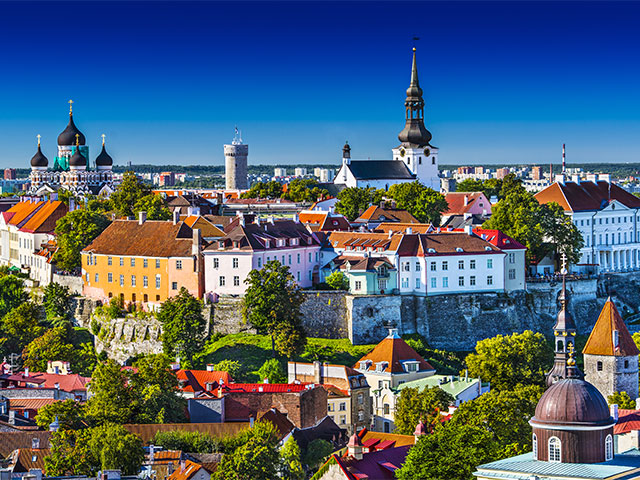 View of Tallinn, Estonia