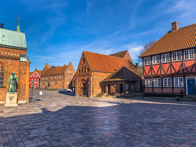 Old Town of Ribe, Denmark