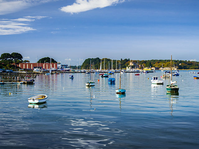 Poole harbour, Dorset, UK