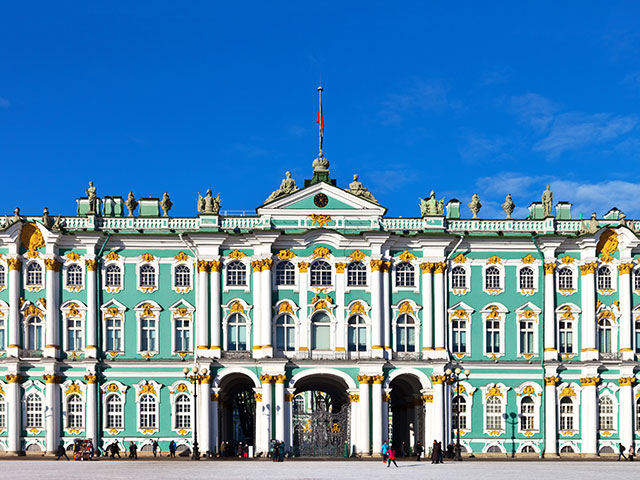 Hermitage Museum in Saint Petersburg, Russia